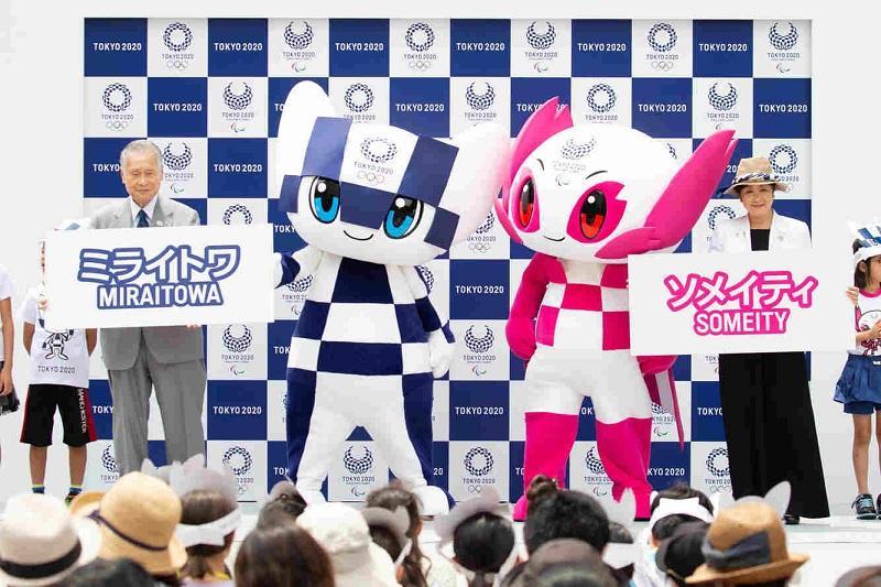 Официальные талисманы Олимпийских игр 2020 представили в Токио