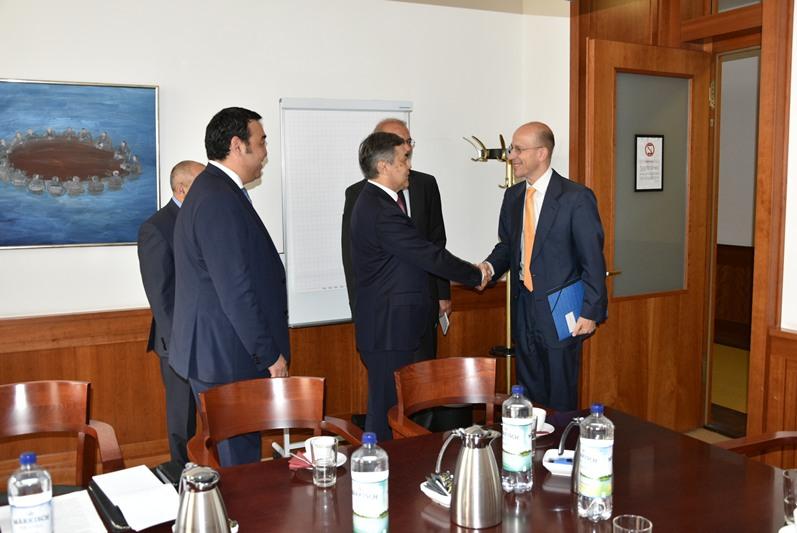 Kazakh Security Council Secretary meets German law enforcement authorities