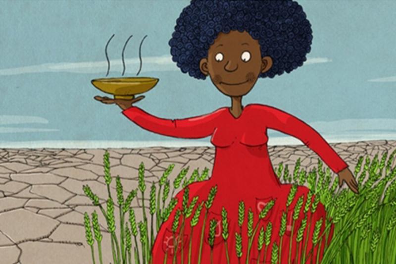 世界粮农组织举行世界粮食日宣传海报竞赛