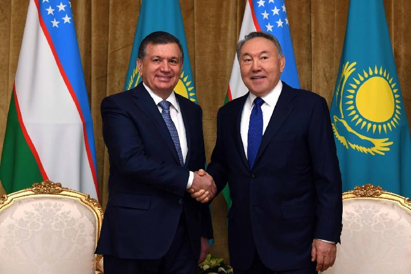 Елбасы Өзбекстан Президентін туған күнімен құттықтады