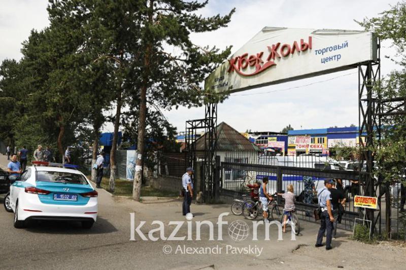Алматы қалалық ІІД «Жібек жолы» автобазары жайында: Рейдтер жиі жүргізілетін болады