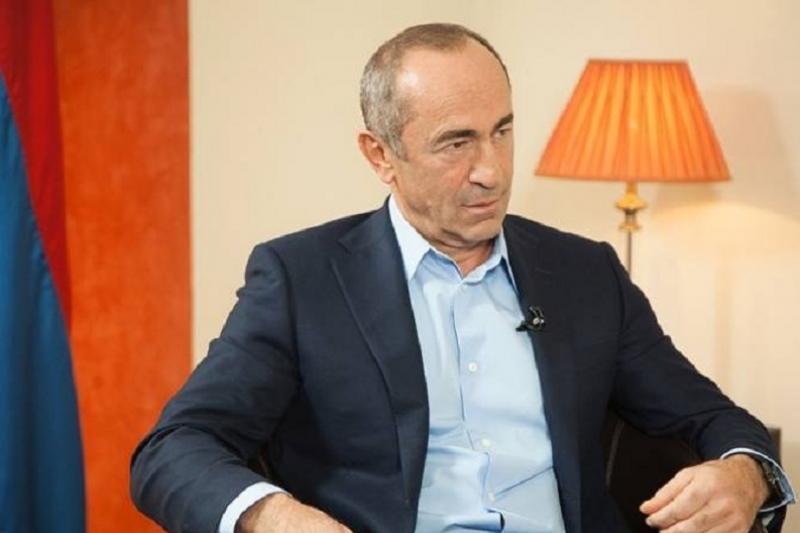 Арменияның бұрынғы президентіне айып тағылды