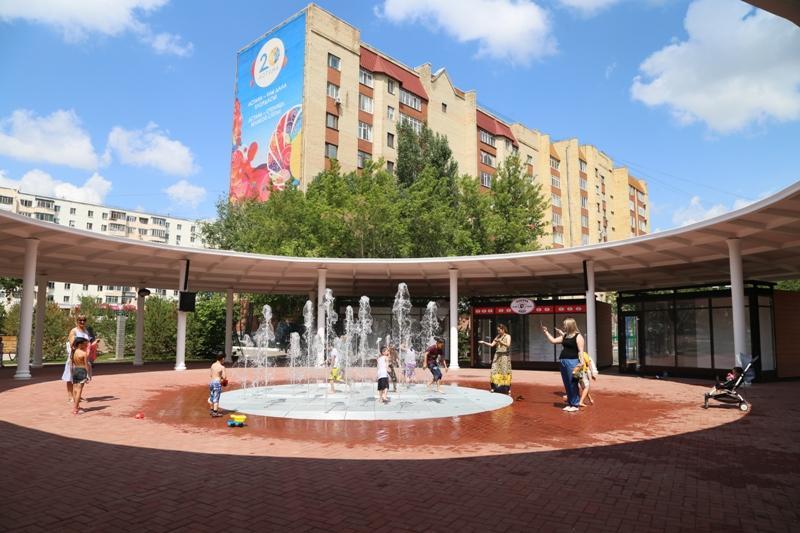 Астанада жаңадан ашылған алаңда домбыра кеші өтеді