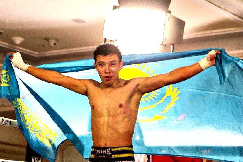 Казахстанский студент стал чемпионом мира по тайскому боксу