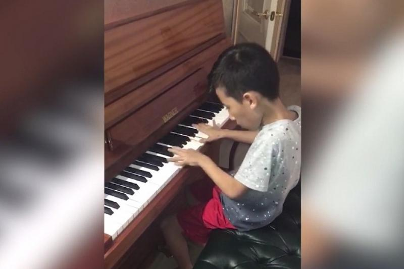 Kazakhstan's youngest composer dedicates his music to Denis Ten