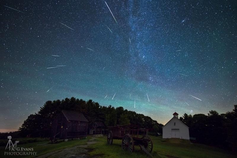 Самый большой звездопад увидят казахстанцы в августе