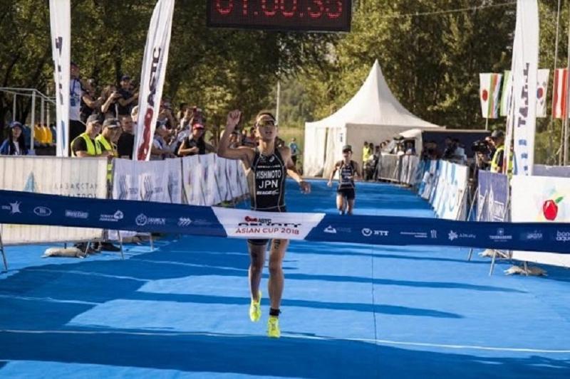 Триатлон: «Almaty Asian Cup 2018» турнирінің алғашқы жүлделері қонақтарға бұйырды