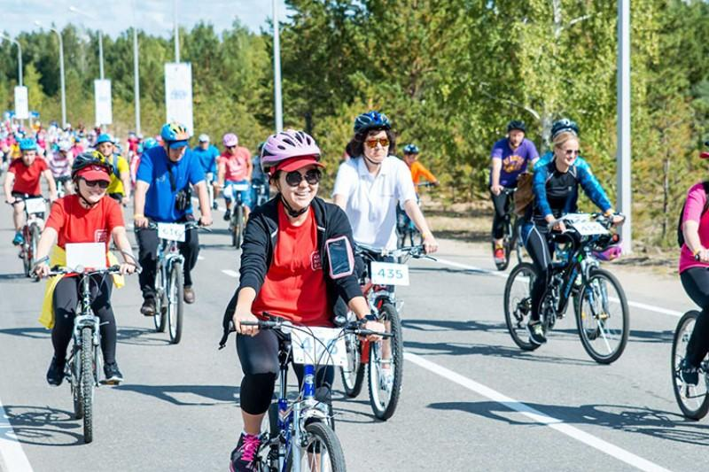 2,000 cyclists set for charity bike ride in Akmola rgn