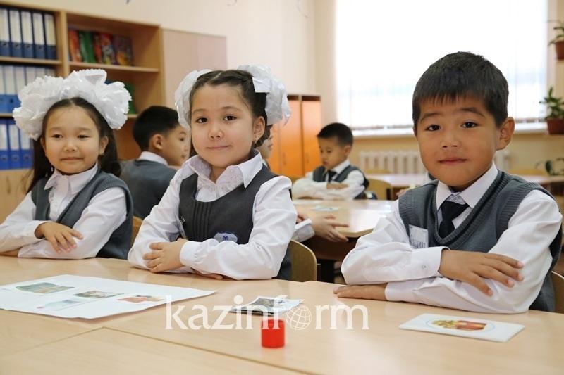 Kazakh schoolchildren on par with European peers - minister