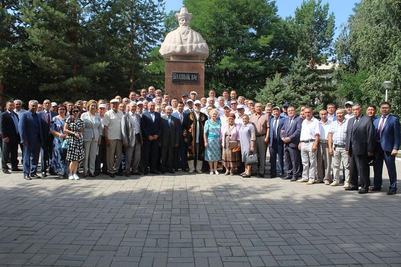 Алматы облысының Көксу ауданында жерлестер кездесуі өтті