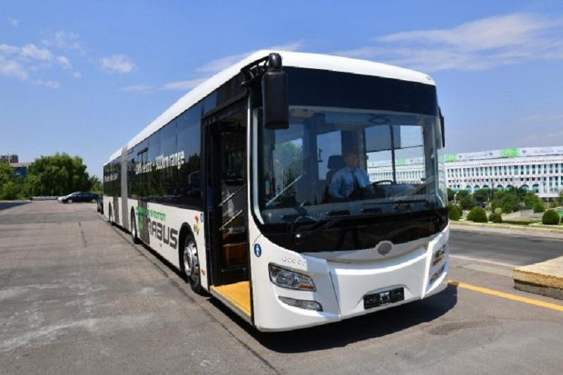 Eurabus electric buses to cruise through Almaty streets