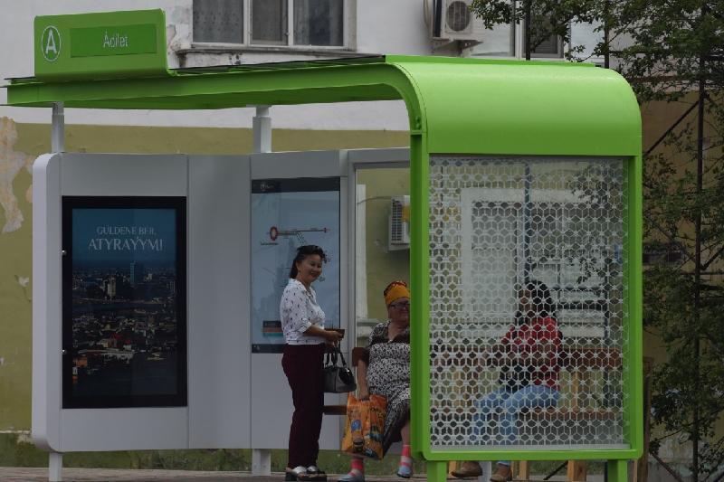 Атырауда 23 жаңа автобус аялдамасы орнатылады