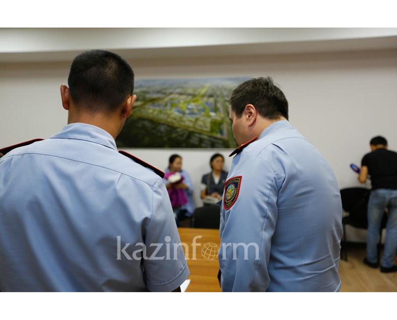 ДВД Алматы организует пункт приема граждан