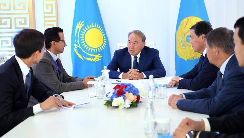 Nursultan Nazarbaev «DP World» kompanııasynyń basshysymen kezdesti