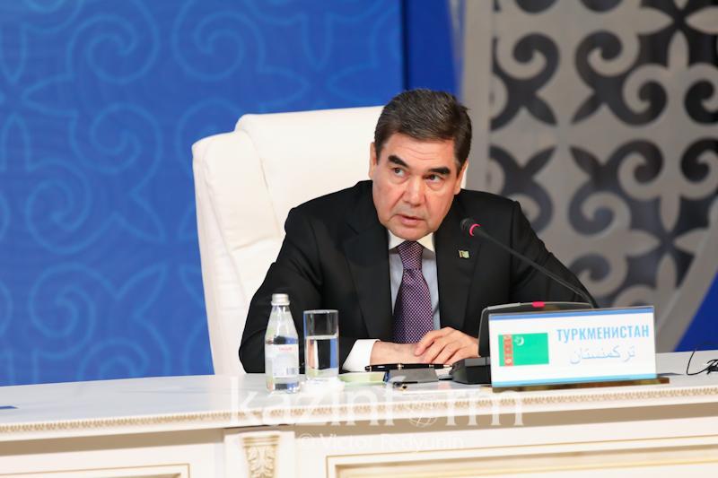 Каспий маңы мемлекеттерінің алтыншы саммиті Түрікменстанда өтеді