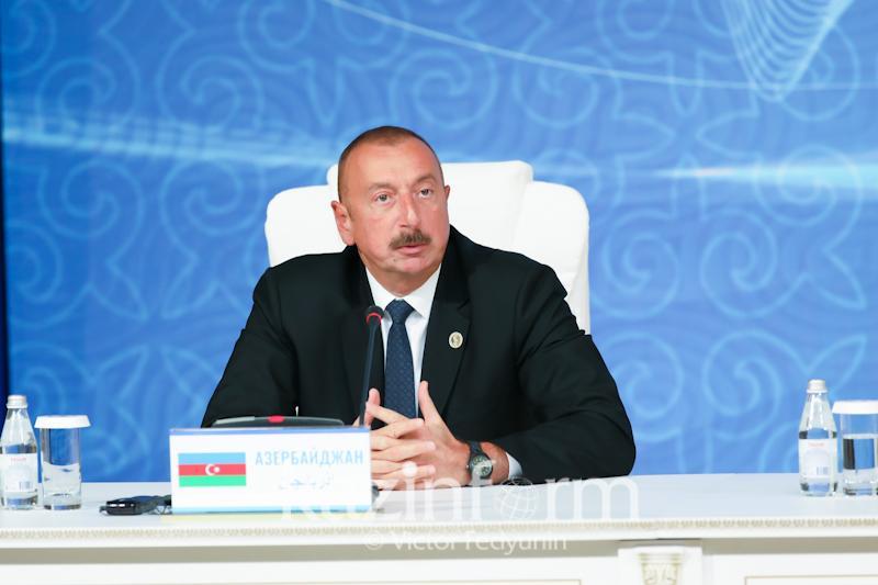 Каспий мәртебесі конвенциясы жаңа мүмкіндіктерді береді - Әзербайжан президенті