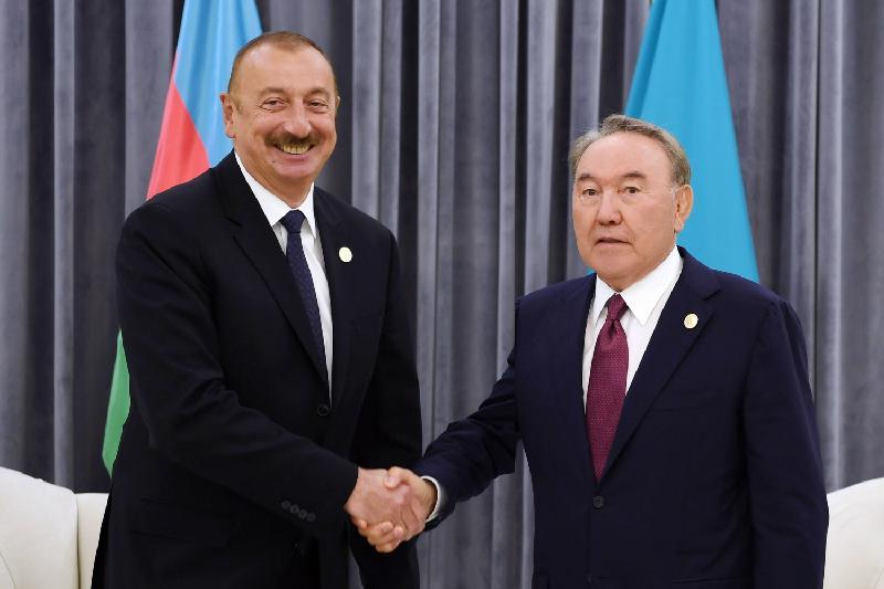 Мемлекет басшысы Әзербайжан Президенті Ильхам Әлиевпен кездесті