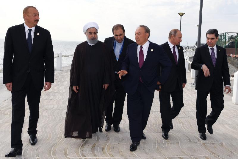 5 елдің президенттері бекіре тұқымдас балықтарды табиғи ортаға жіберу шарасына қатысты