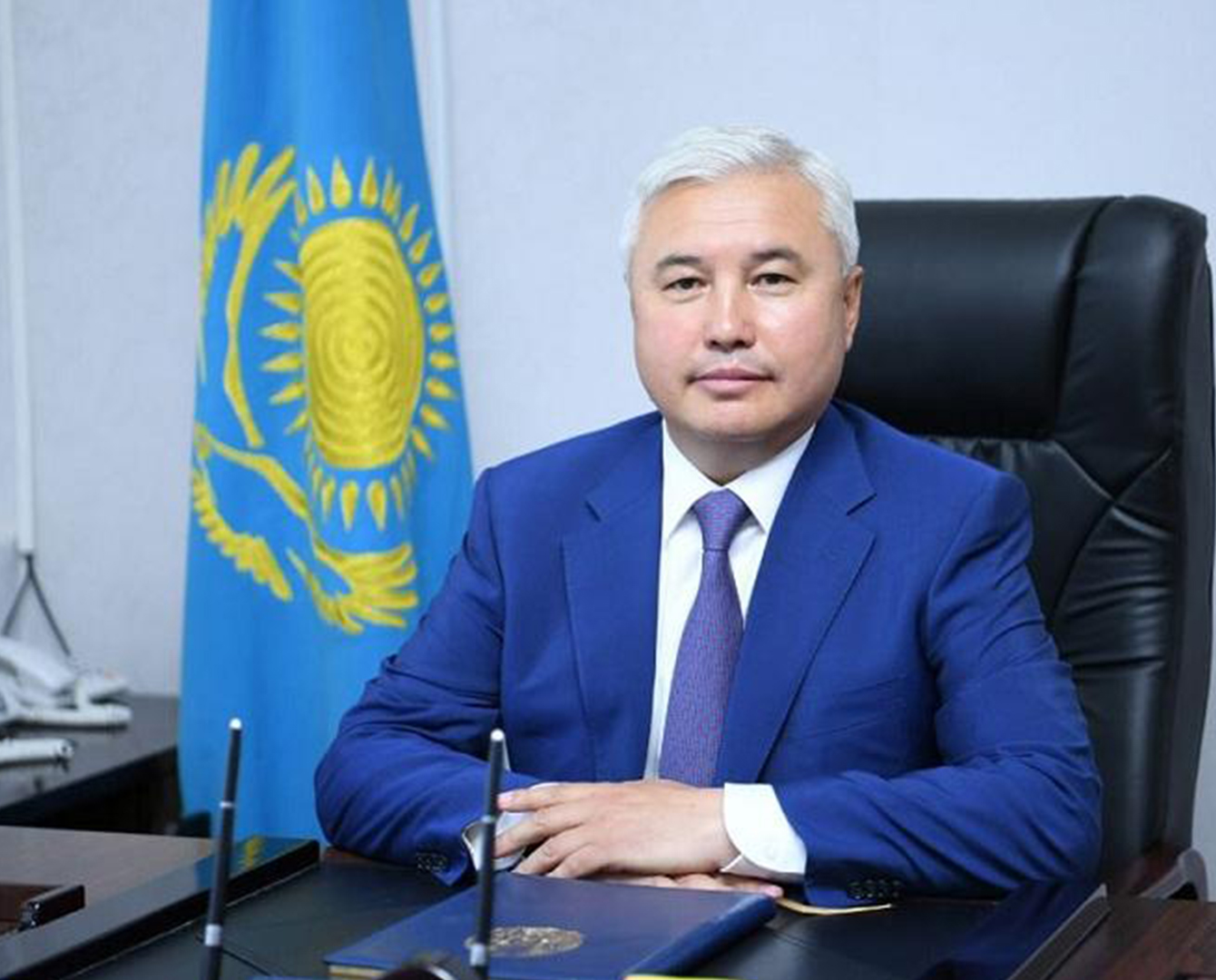 Аким Экибастуза переведён первым замакима Туркестанской области