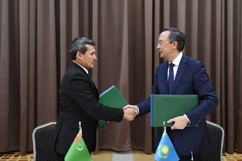 Қазақстан мен Түрікменстан ратификациялау грамоталармен алмасты