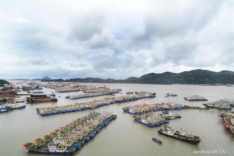 205 тысяч человек эвакуированы в Китае из-за тайфуна Яги