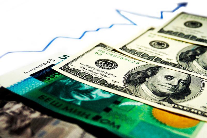 Доллар подорожал по отношению к кыргызскому сому