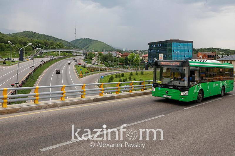 Обслуживавший три городских маршрута автопарк закрылся в Алматы