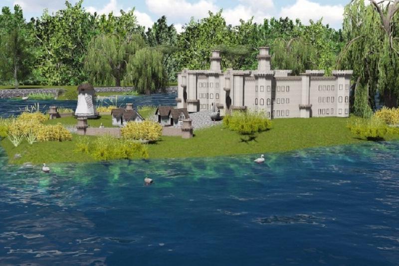 Искусственное озеро восстановят в зоопарке Шымкента