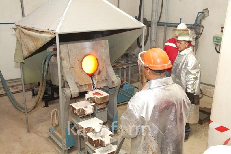 Производство золота в Казахстане в январе-июле увеличилось на 9,7%