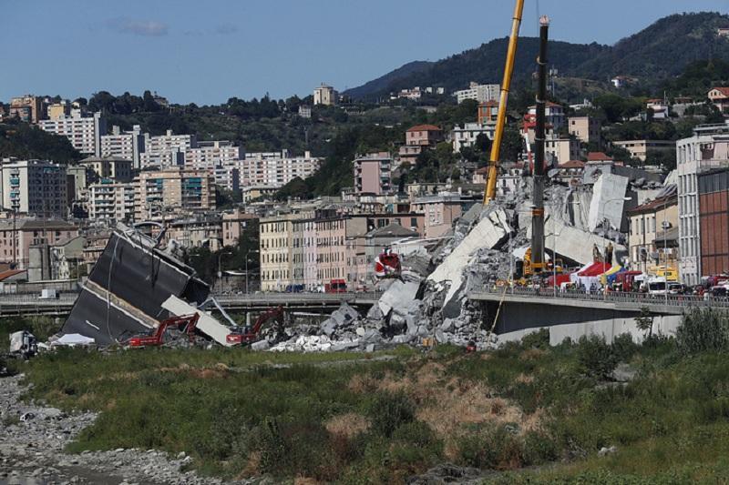 意大利宣布热那亚地区进入12个月紧急状态