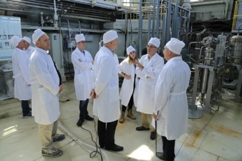 U.S. delegation visited Kazakhstan's National Nuclear Centre