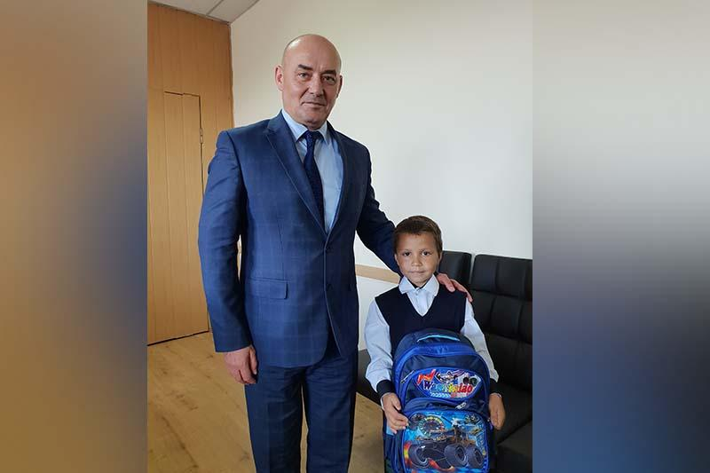 Старт акции «Дорога в школу» дал аким в Ерейментауском районе