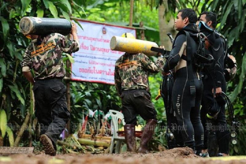 В Таиланде пройдет праздник для спасителей детей из пещеры