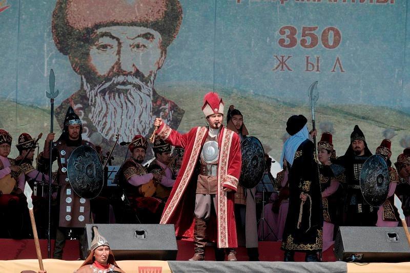Глава государства поздравил жителей Карагандинской области с 350-летием Бухар жырау Калкаманулы