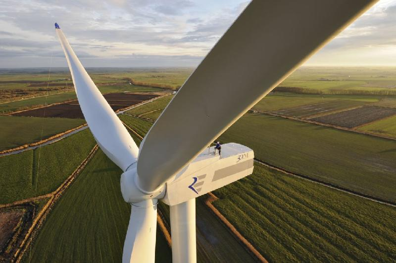 Wind power plant construction kicks off in W Kazakhstan