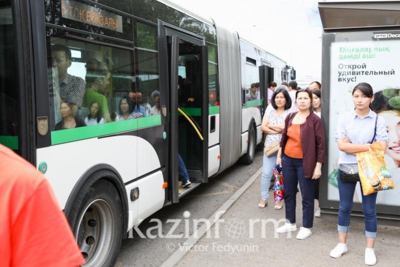 Астанада бірқатар автобус бағдары өзгертілді