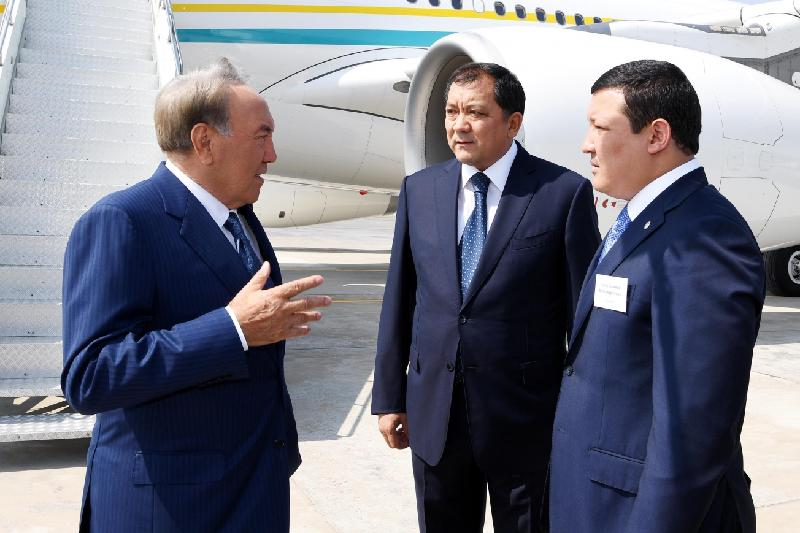 Нурсултан Назарбаев прибыл с рабочим визитом в Атыраускую область
