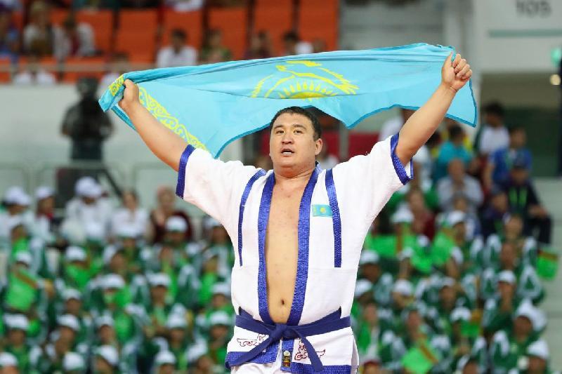Айбек Нұғымаров Азияның абсолютті чемпионы атанды