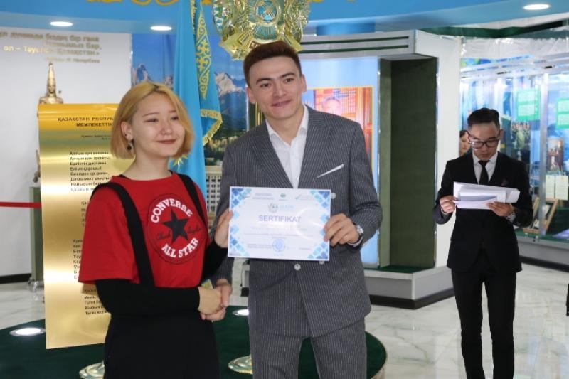 В преддверии Дня Конституции в Акмолинской области наградили молодежных активистов