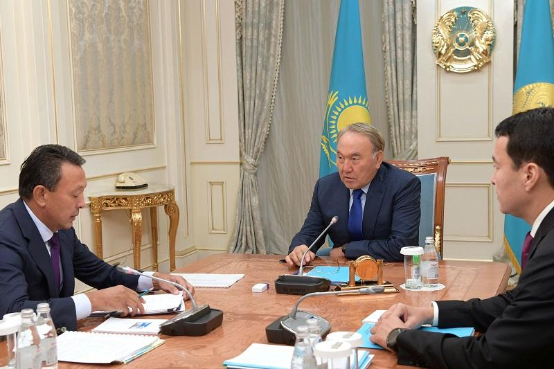Head of State receives CEO of KazMunayGas
