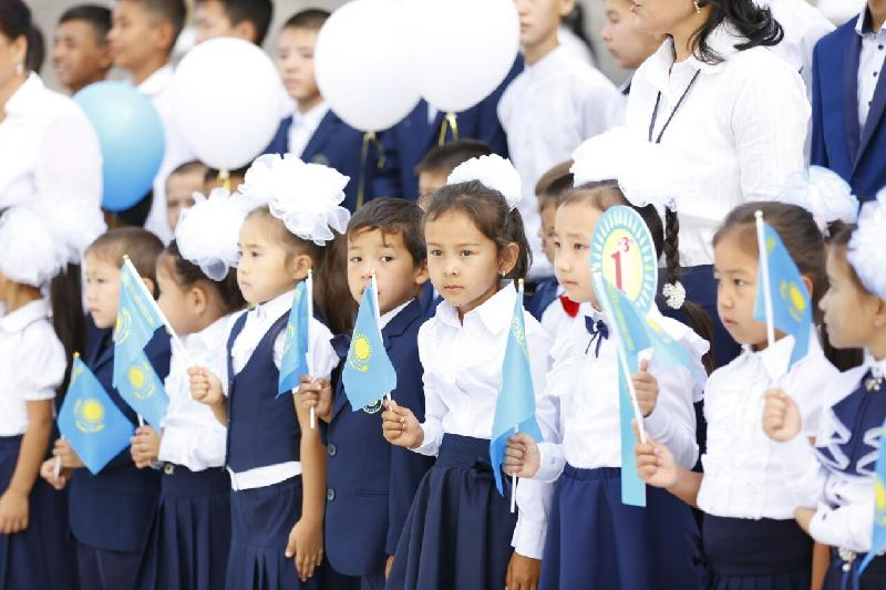 180 тысяч детей пойдут в школы Шымкента 1 сентября