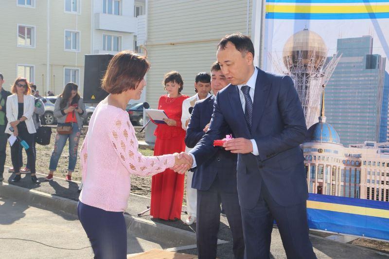 48 жителей пригорода Костаная отметят День Конституции в собственных квартирах