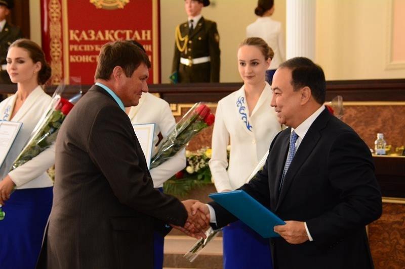 День Конституции торжественно отметили в Кокшетау