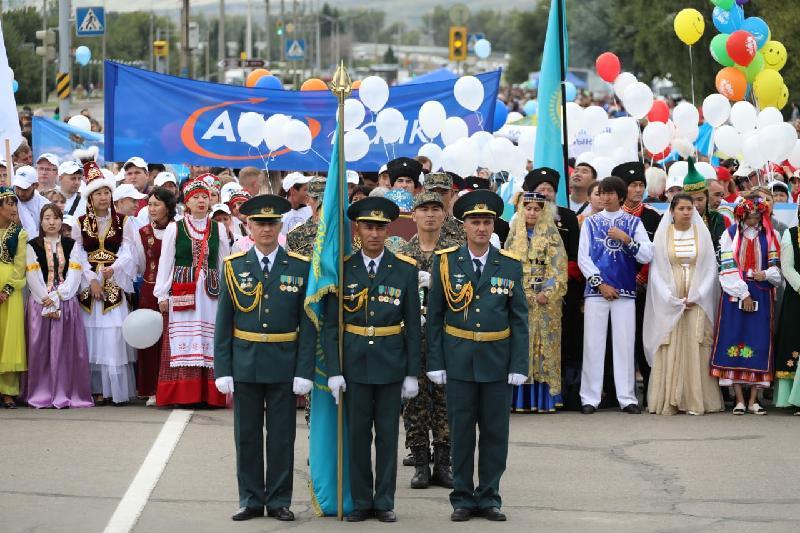 Как празднуют День Конституции в Усть-Каменогорске