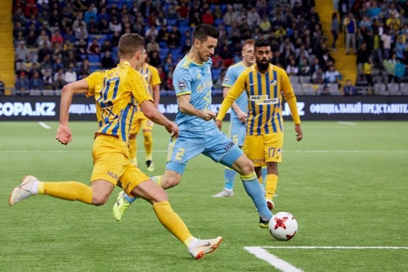 «Астана» - АПОЭЛ матчы қосымша таймдарға ұласты