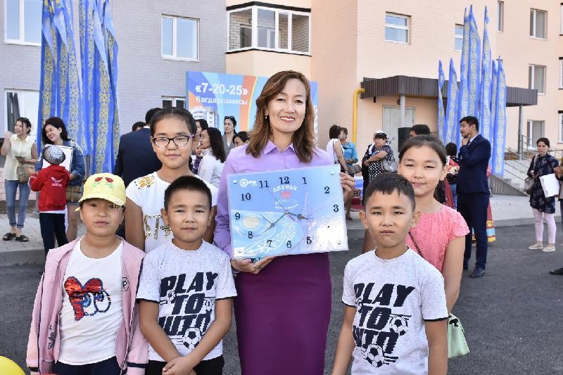 90 актюбинских семей обрели жилье по программе «Нурлы жер»