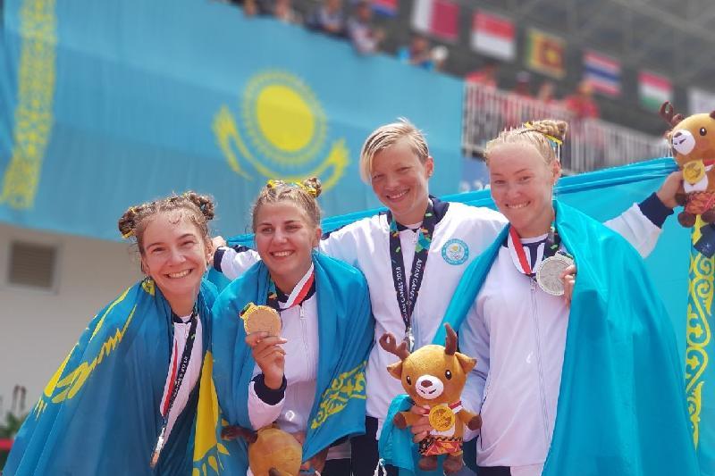 Второе «серебро» за день завоевали казахстанские гребцы на Азиаде-2018