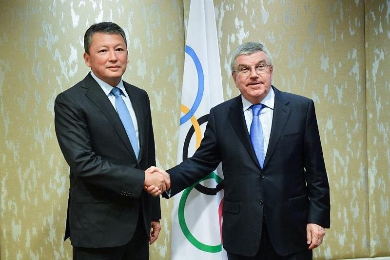 Тимур Кулибаев встретился с главой МОК Томасом Бахом
