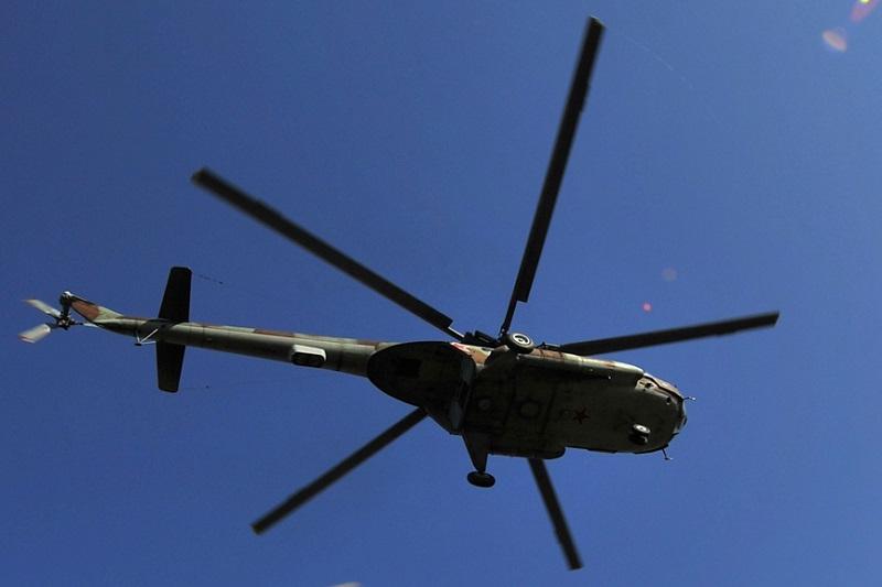 Экипаж увел падающий вертолет Ми-8 от крестьянского хозяйства