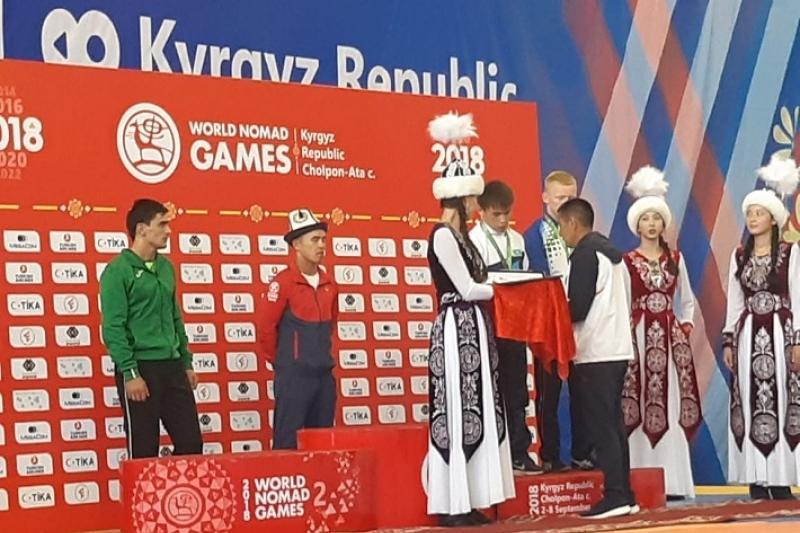 Kazakh athletes pocket first medals at 3rd World Nomad Games